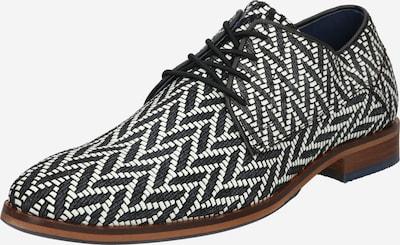BULLBOXER Chaussure à lacets ' 699K20114B ' en noir / blanc, Vue avec produit