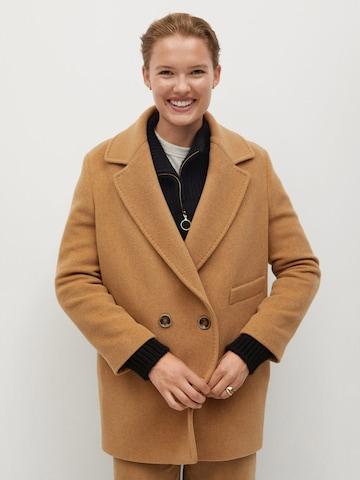 Manteau mi-saison 'Bella' MANGO en marron