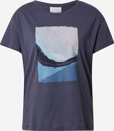 ARMEDANGELS T-Shirt 'NELAA BREATH' in blau / opal / himmelblau / anthrazit, Produktansicht