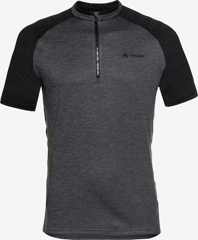 VAUDE Shirt 'Tamaro III' in basaltgrau / schwarz, Produktansicht