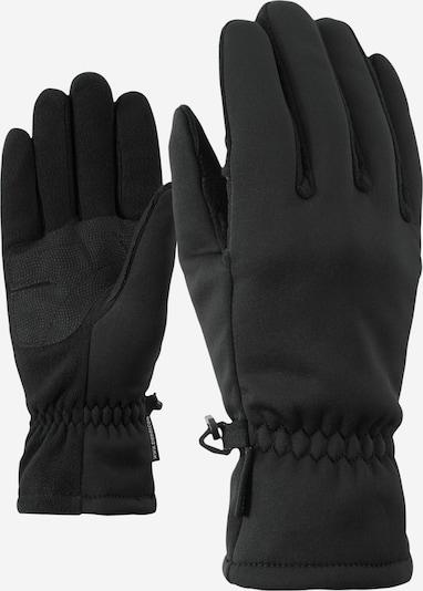 ZIENER Multifunktionshandschuhe 'Importa' in schwarz, Produktansicht