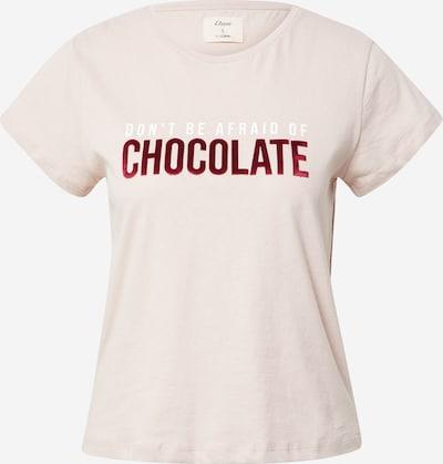 ETAM Camiseta para dormir 'FOCO' en talco / rojo oscuro, Vista del producto