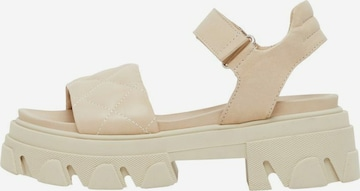 Bianco Sandale in Beige