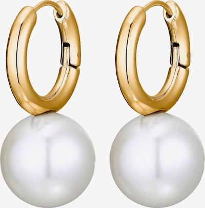 Heideman Boucles d'oreilles en jaune d'or / blanc, Vue avec produit