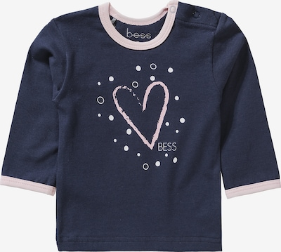 BESS Shirt in marine / pastellpink, Produktansicht
