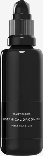 Marvelous Rasieröl 'Preshave Botanical Grooming' in schwarz / weiß, Produktansicht