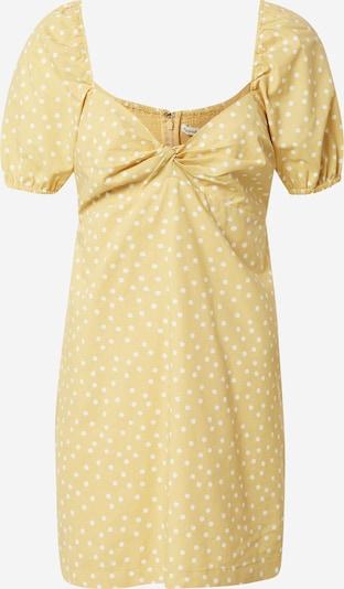 Abercrombie & Fitch Vestido de verano en amarillo / blanco, Vista del producto