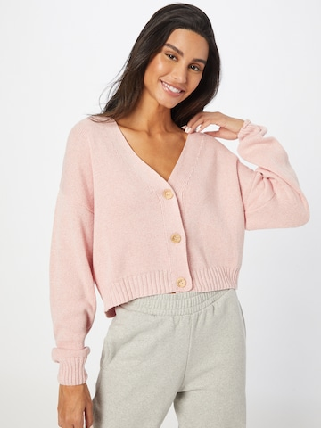 NU-IN Knit Cardigan in Pink