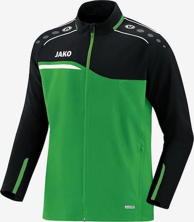 JAKO Jacke in grün / schwarz, Produktansicht