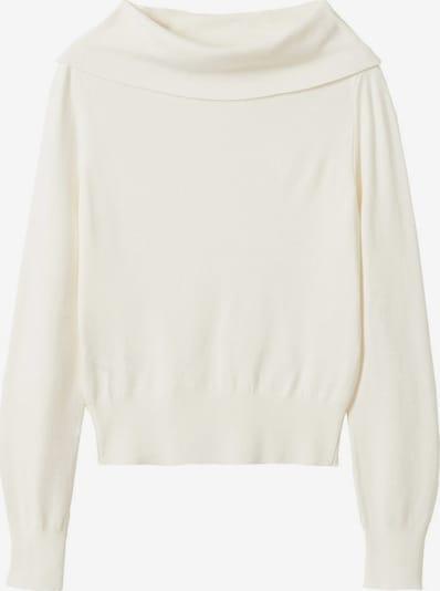 MANGO Pull-over 'Michael' en blanc naturel, Vue avec produit