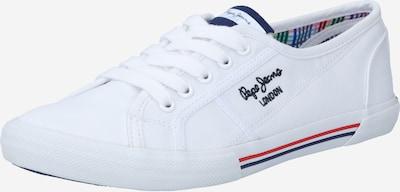 Sneaker low 'ABERLADY ECOBASS' Pepe Jeans pe alb, Vizualizare produs