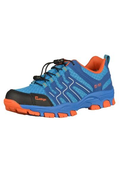 Kastinger Wanderschuhe in blau / orange: Frontalansicht