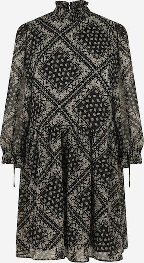 NAF NAF Kleid 'Bandana' in grau / schwarz, Produktansicht