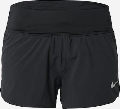 NIKE Spodnie sportowe 'ECLIPSE' w kolorze srebrno-szary / czarnym, Podgląd produktu