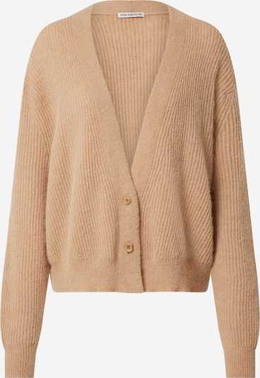 DRYKORN Knit cardigan 'SONTJE' in Brown, Item view