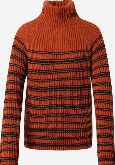 DRYKORN Pullover 'Arwen' en orange / schwarz, Vue avec produit
