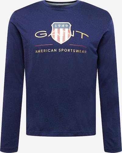 GANT Tričko - námornícka modrá / zlatá / červená / biela, Produkt