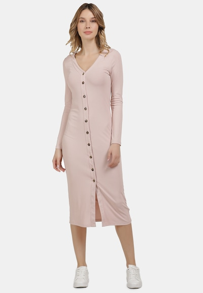 usha BLUE LABEL Strickkleid in rosa, Modelansicht
