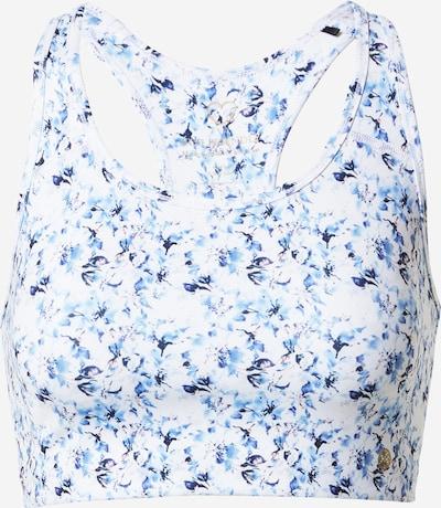 Athlecia Sport bh 'Franzine' in de kleur Navy / Lichtblauw / Wit, Productweergave