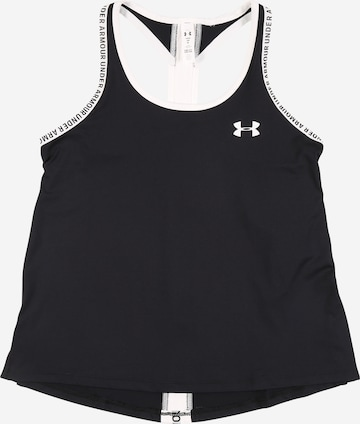 UNDER ARMOUR Sports top 'Knockout' in Black