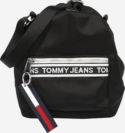 Tommy Jeans Poche ventrale en noir / blanc, Vue avec produit