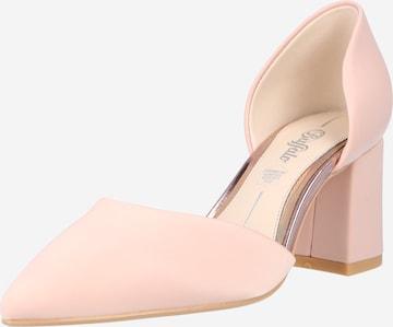 BUFFALO Γόβες 'FLORA' σε ροζ