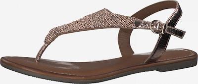 Flip-flops TAMARIS pe arămiu, Vizualizare produs