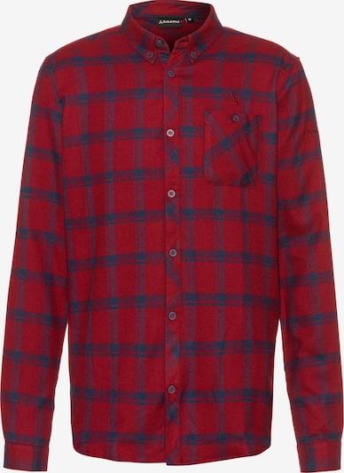 Schöffel Hemd 'Gateshead' in blau / rot, Produktansicht