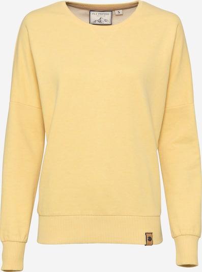 Fli Papigu Sudadera 'Serefsiz 31er' en amarillo moteado, Vista del producto