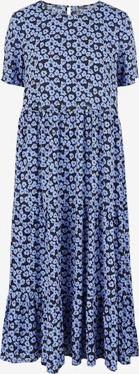PIECES Jurk 'Malinda' in de kleur Smoky blue / Zwart, Productweergave