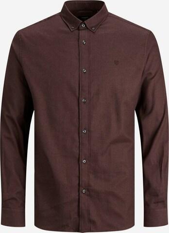 JACK & JONES Hemd 'Blaperfect' in Rot