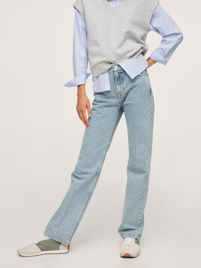 MANGO Jeans 'Gala' in de kleur Blauw denim, Modelweergave