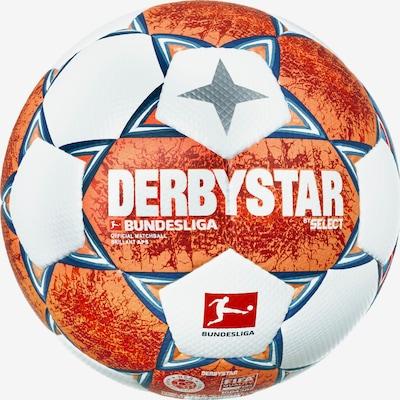 DERBYSTAR Ball in blau / grau / orange / weiß, Produktansicht