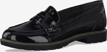 TAMARIS Slippers i svart