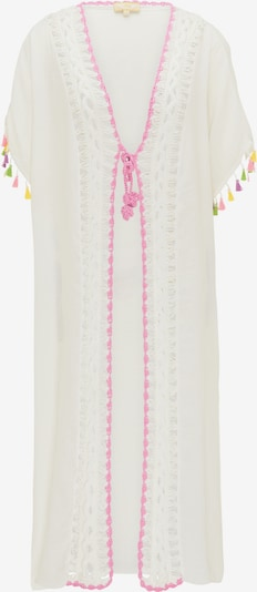 MYMO Kimono en mélange de couleurs / blanc, Vue avec produit