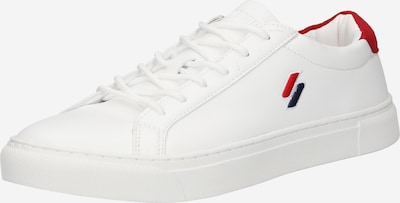 Superdry Sneakers in Night blue / Red / White, Item view