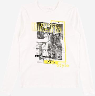 T-Shirt 'FERREL' Guppy en blanc