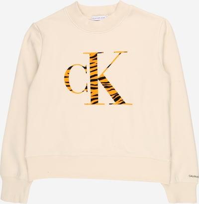 Calvin Klein Jeans Sweatshirt 'URBAN' in beige / orange / schwarz, Produktansicht