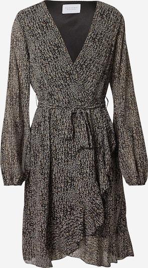 SISTERS POINT Kleid 'GRETO' in braun / schwarz / weiß, Produktansicht