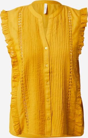dzeltens Pepe Jeans Blūze 'ISLA'