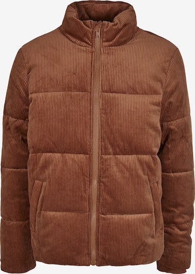 Urban Classics Winterjas in de kleur Chamois, Productweergave