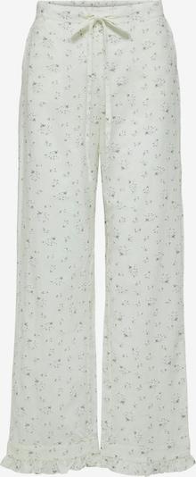 SELECTED FEMME Hose in oliv / weiß, Produktansicht