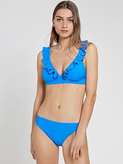 Shiwi Bikini 'Bobby' en bleu néon, Vue avec modèle