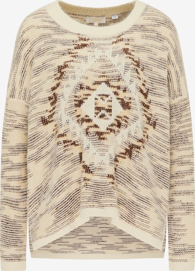 usha FESTIVAL Pullover in sand / braun, Produktansicht