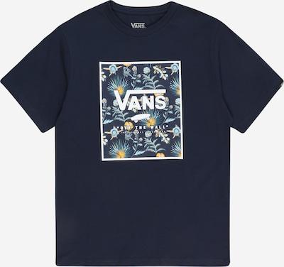 VANS T-Shirt en bleu marine / bleu-gris / bleu clair / citron vert / blanc, Vue avec produit