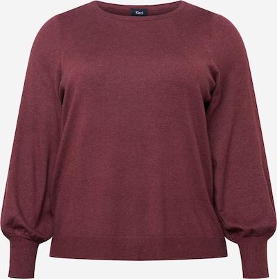 Zizzi Sweater 'ELLA' in Bordeaux, Item view