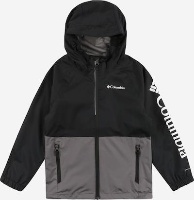 COLUMBIA Prechodná bunda 'Dalby' - tmavosivá / čierna / biela, Produkt