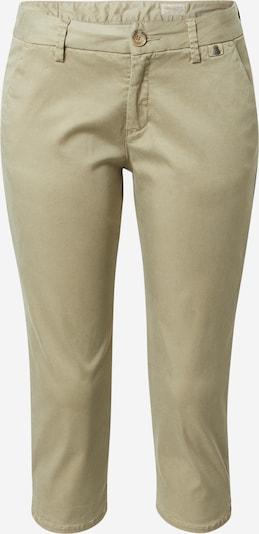 Herrlicher Pantalon chino 'Lovely' en vert, Vue avec produit