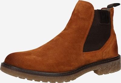 Pius Gabor Chelsea boots i brun / svart, Produktvy