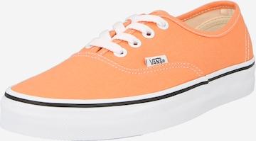 Baskets basses VANS en orange